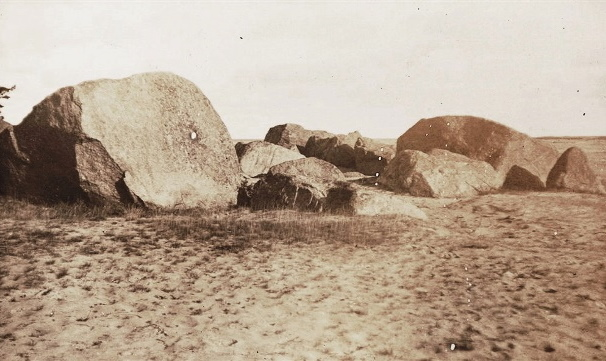 Aegna kivikülv Lemmiku kaelal 1920-1930. aastatel